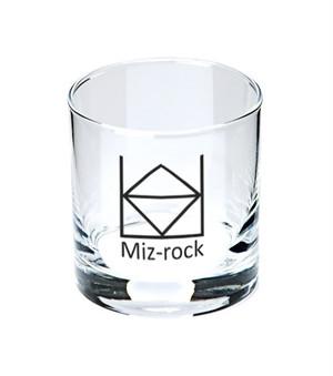水・ロックグラス
