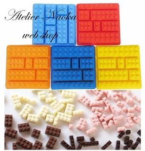 レゴブロック シリコンモールド