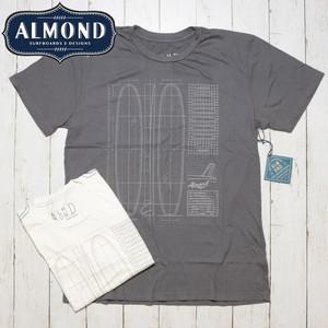 [クリックポスト対応]ALMOND アーモンド LUMBERJACK PLANS S/S TEE 半袖Tシャツ