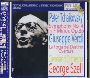 [中古CD] チャイコフスキー:交響曲第4番 セル/クリーヴランド管弦楽団