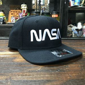 NASA OTTO(オットー)スナップバックキャップ・ウールブレンド・ロゴタイプ(ワーム)