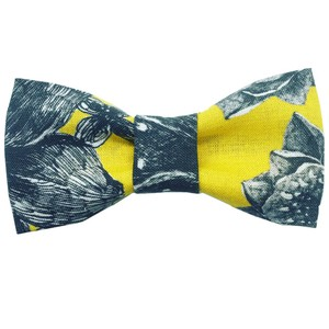 "bowtie ""dot×flower"""