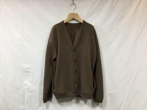 "crepuscule "" Moss stitch cardigan "" Brown"