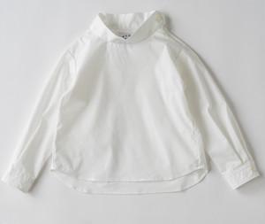 【EAST END HIGHLANDERS】  ハイネックシャツ(ホワイト)