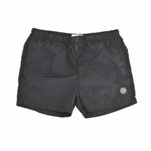 Stone Island Nylon Metal Shorts (Short Type) Black 7015B0643