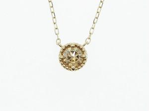 【K18】0.300ct UP ダイヤモンドネックレス