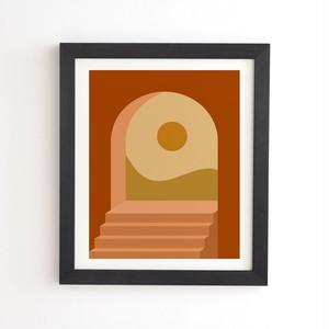 フレーム入りアートプリント - MINIMAL ARCHWAU BY COLOUR POEM【受注生産品: 10月下旬頃入荷分 オーダー受付中          】