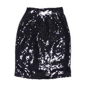 Spangle tight skirt