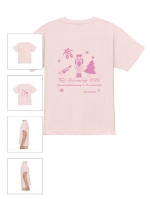 【三田バレエスクール生徒限定】くるみ割り人形限定Tシャツ ピンク色