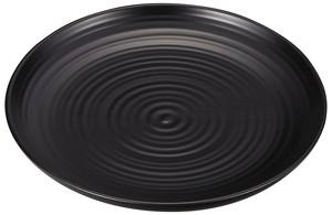 7.0パン皿 黒塗