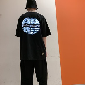 【即納】韓国ファッション Paragraph レオパードリフレクターTee