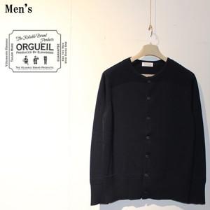 ORGUEIL ニットカーディガン Knit cardigan OR-9019 (NAVY)
