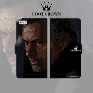 iPhone全機種対応 手帳型スマートフォンケース ダンディ モウリーニョデザイン