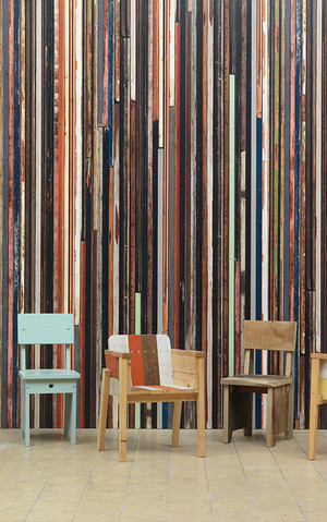 【NLXL】 PIET HEIN EEK  scrap wood wallpaper2  PHE-15
