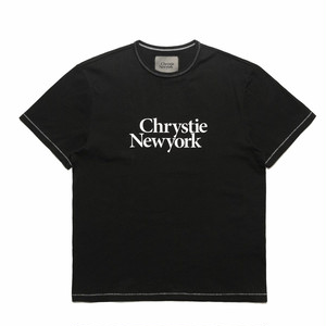 CHRYSTIE NYC(クリスティー ニューヨーク) / BIG CLASSIC LOGO T-SHIRT -BLACK-