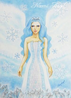 A4サイズ複製画 Crystal Angel - クリスタルの天使