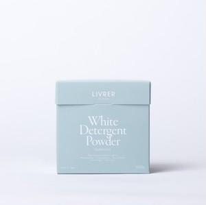 500g】粉洗剤  ホワイト ディタージェント パウダー /WHITE DETERGENT POWDER 【スペアミントの香り】 <綿、麻、合成繊維用>