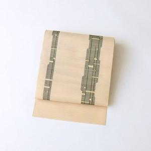 2207 夏物◆未使用◆竹柄絽綴れ名古屋帯
