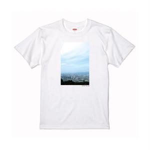 【寄付対象】【CHIKUGO百景】久留米市街地一望Tシャツ(送料無料)