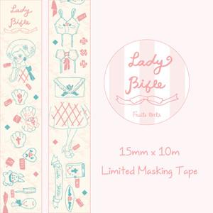 Lady Bible♡個展限定マスキングテープ15mm