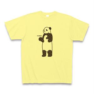 LV PANDA(ルイヴィトンのモノグラム風柄のパンダ)B