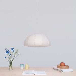 小鐘型ペンダントランプ | Puff White