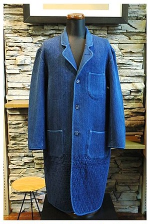 Porter Classic - KENDO Long Coat - Blue