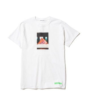 """Party"" Tee  WHITE  19AW-FS-52"