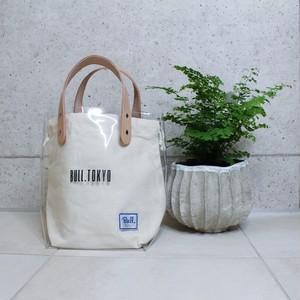 【7月上旬発送】Bull.Tokyo オリジナル PVC レザーキャンバスバッグ