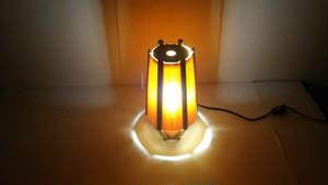 【いやしとやすらぎの空間】を演出する 青森ヒバ 木製 間接照明   No.   012