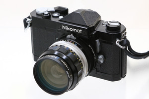 【中古】Nikon(ニコン)Nikomat FTN + NIKKOR-O Auto 35mmF2