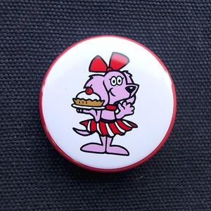缶バッジ 38mm Hearty'sDog GIRL