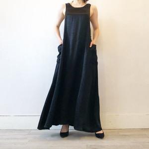 satin maxi jumper skirt