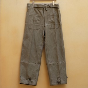 40's~50's FRENCH ARMY MOTORCYCLE PANTS DEAD STOCK
