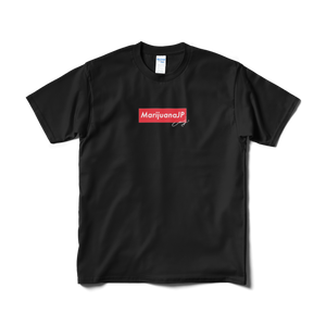MarijuanaJP×MJ SELECTオリジナルロゴ【Tシャツ】(Box logo Red2色)