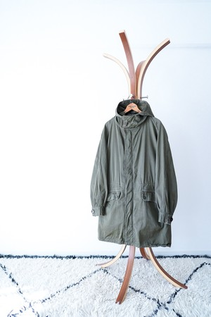 """【1960s】""""M-64"""" Cold Weather Parka, French Army / v434"""