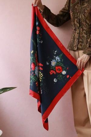 Christian Dior botanical scarf