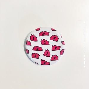 ロゴ缶バッジ(集合歪み)