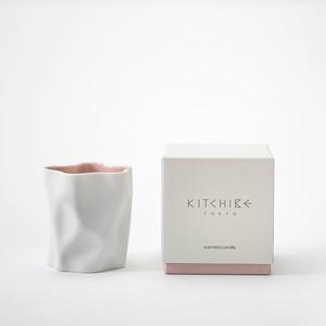心地よい香りのキャンドル Crinkle Candle -SAKURA- KITCHIBE