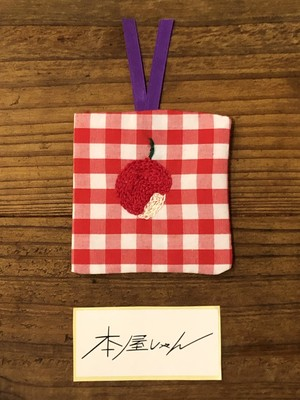 【GOODS】正方形しおり りんごーLUCO