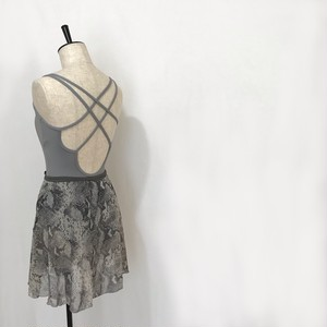 "❖""Fiorina"" Ballet Wrap Skirt -   Python (Gray) [Sheer]( パイソン(グレー)[シアー])"