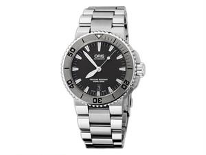 オリス ORIS アクイス Aquis 自動巻き メンズ 腕時計 73376534153M 国内正規