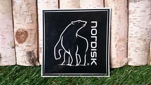 【Nordisk】ステッカー Black