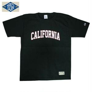 "NS101006 ""CALIFORNIA"" T1011 PRINT Tee / BLACK"