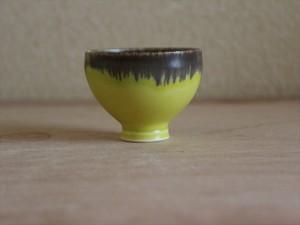 ぐいのみ イエロー&ブラック Sake cup Yellow&Black