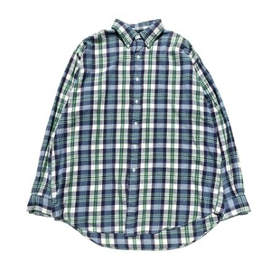 USED Ralph Lauren B.D. check shirts - blue,green
