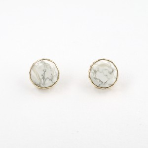 Marbles howlite  pierce