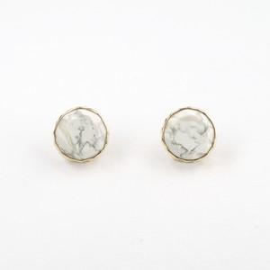 Marbles howlite  pierce
