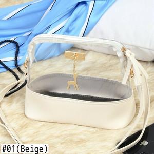 Bag PVC Jelly Small Shell Bag Beach Shoulder Bag Messenger Bag Sac サマー 夏物 ショルダーバッグ ビーチ メッセンジャーバッグ (HF99-4577661)
