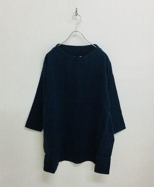 【NATURAL LAUNDRY】Lキャンバスボートチュニック / 7185O-002